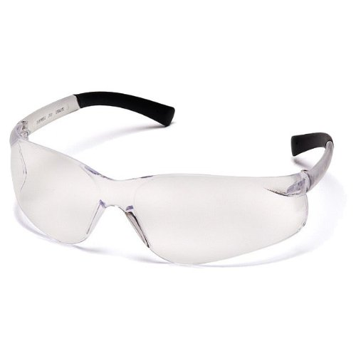 Pyramex S2510S Ztek Safety Glasses Clear Frame w/Clear Lens (300 Pair)