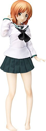(FREEing (FREEing) Girls & Panzer west to live Ho Uniforms & Angler Suit Ver. 1/4 Scale Painted PVC figure)