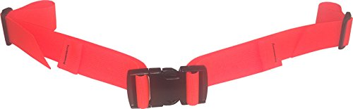 Fire Force Backpack Waist Belt Universal Fit with Quality Military Buckles Made in USA (Blaze Orange, 1½