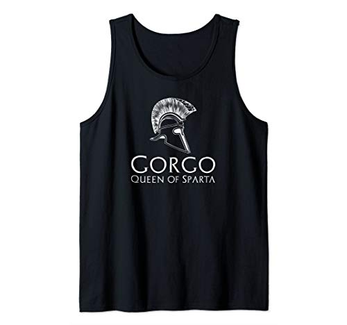 Great Women In Greek History - Gorgo Queen Of Sparta Tank Top