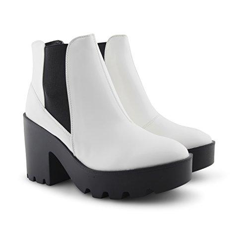 Dolcis - Botas para mujer Blanco - blanco