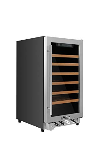 Thorkitchen HWC2405U 40 Bottles 18'' Built-in Wine Cooler, stainless steel by Thor Kitchen (Image #1)