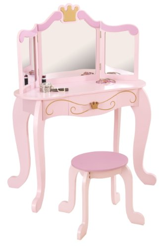 KidKraft 76123 Princess Table Stool product image