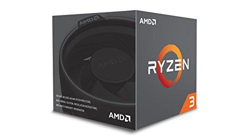 AMD Ryzen 3 1200 Desktop Processor with Wraith Stealth Cooler (YD1200BBAEBOX) by AMD (Image #2)