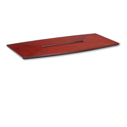 Tiffany Industries CT72CRY 72 by 36-Inch Corsica Boat Shape Conference Table Top, Sierra Cherry