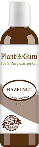 Hazelnut Oil 4 oz. Cold Pressed 100% Pure Natural Carrier - Skin, Body And Face. Great For Moisturizing & More!