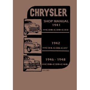 Factory Shop - Service Manual for 1941-1948 Chrysler - Others Service Manual