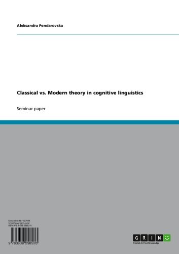 Cognitive linguistics - Wikipedia