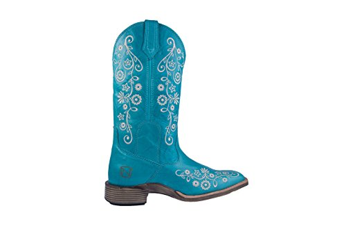 Around 5 Boots Frontier Outfitters Turquoise All R Noble 8 Women 66027 nSI4x6A