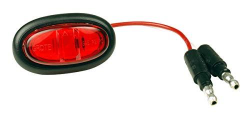 Grote 47972 Red MicroNova LED Clearance Marker Light (Grommet)