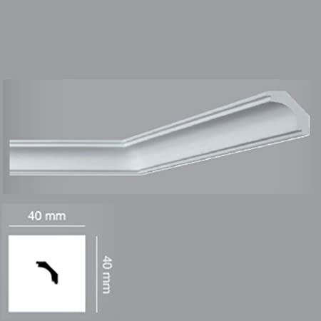 6 56 ft Coving 'Himera i747' stucco cornice moulding trim profiles