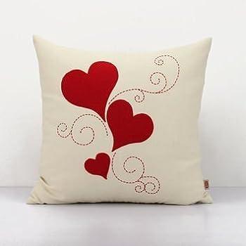 lfarncomboutlet love decorative cushion covervalentine pillow heart throw p more - Valentine Pillow