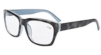 53004cdece Eyekepper Polycarbonate Large Lens Line Bifocal Glasses Readers Men Grey  +2.0