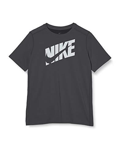 Nike Dri-Fit Swoosh Jr Black T-Shirt for Kids CJ7736-010 1