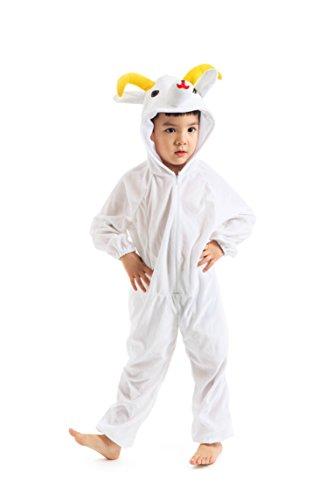 Astage Kids Animal Halloween Cosplay Onepiece Pajamas Outfit Homewear Robes Safari Costume