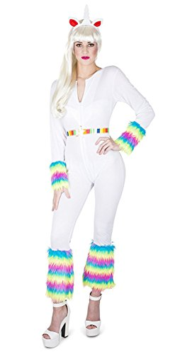 Old Creepy Halloween Costumes (Karnival Women's Enchanted Unicorn Costume Set - Perfect for Halloween, Costume Party Accessory. Trick or Treating (XS))