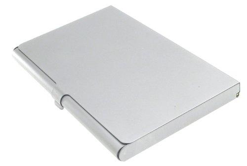 Business Name Case Card Holder Aluminum Assorted Colors by Kikkerland (Image #2)