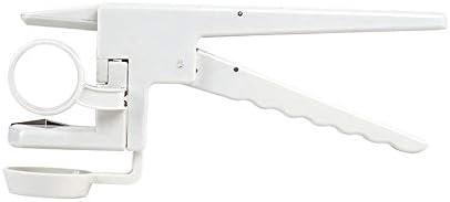 Crewell Egg Cracker Handheld York und White Separator Helper Egg Opener K/üchenhelfer Tool