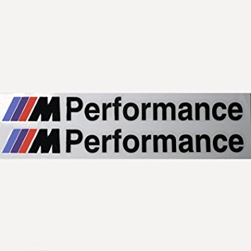 Bmw m performance motorsport side decal decal 200 mm 2 pcs