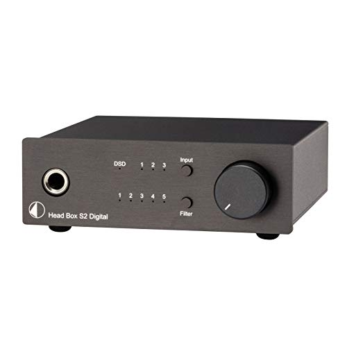 Pro-Ject Head Box S2 Digital Headphone Amplifier and DAC - Black