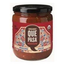 UPC 068826200011, Que Pasa Organic Medium Mexicana Salsa, 16 Ounce -- 12 per case.