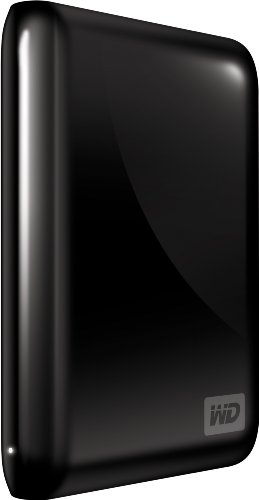 WD My Passport Essential 320 GB USB 2.0 Portable External Hard Drive (Midnight Black)