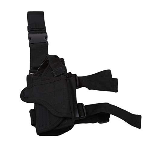 Winwinfly Ajustable Tactique puttee Cuisse Jambe Shoulder Pistolet Holster Sac de Chasse en Plein air Accessoires 4