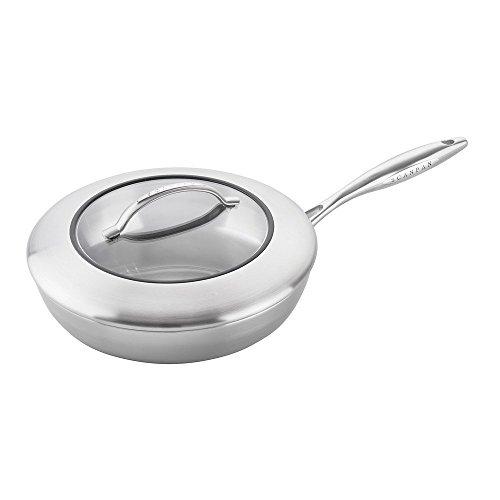 Scanpan 67102800 CSX Covered Saute Pan, 11-Inch