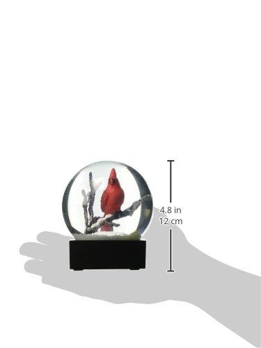 Cardinal Singing Snow Globe