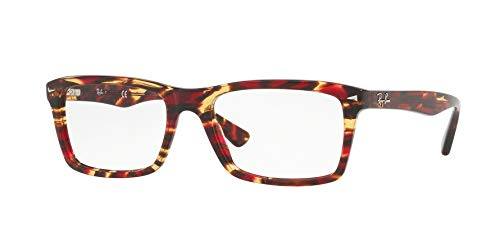 Ray-Ban Men's 0RX5287 Spotted Red/Brown/Yellow One Size