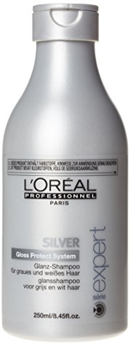 L'oreal Serie Expert Silver Shampoo for Unisex, 8.45 Ounce