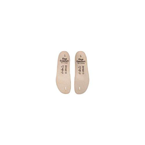 Finn Trøst Kvinners Myk Komfort Footbeds # 8550 For Thong Sandaler Beige