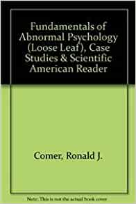 Case Studies in Abnormal Psychology by Comer and Gorenstein BRAND NEW!!!!!!!!!!!
