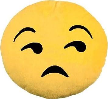 Lot Set Von 3 Stuck Emoticon Trauriges Gesicht Kissen 27cm Amazon