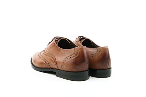 TDA - Zapatos Planos con Cordones mujer caqui