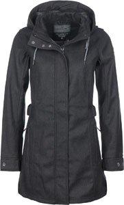 Killtec Damen Casual Soft Shell Jacke in Wolloptik mit Abzipbarer Kapuze Woja Fashion