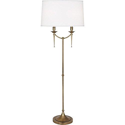 Robert Abbey Cedric Warm Brass Floor Lamp (Robert Floor Brass Lamp)