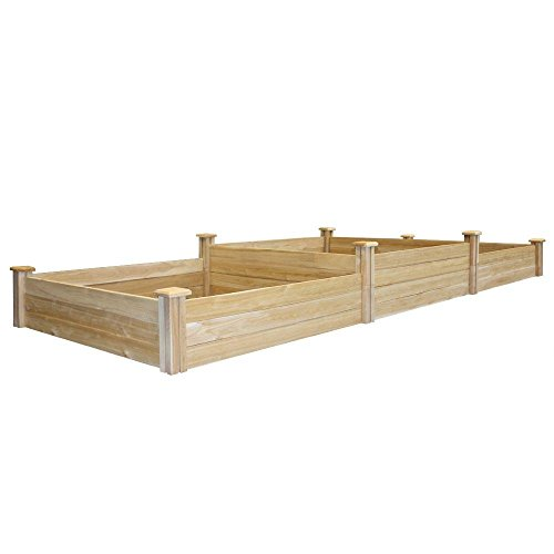 Greenes Fence Tall Tiers Dovetail Raised Garden Bed by Greenes Fence (Image #1)