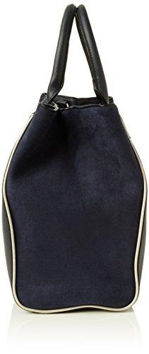 Dorothy Perkins Damen Oversized Strap Tasche, Blau (Marineblau)