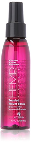 Alterna Hemp Tousled Waves Hair Spray, 4 Ounce