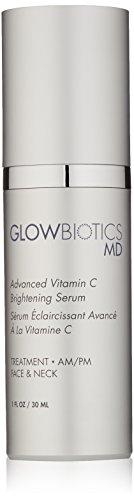 Glowbiotics MD Probiotic Advanced Vitamin C Brightening Firming Anti-Aging Facial Serum, 1oz