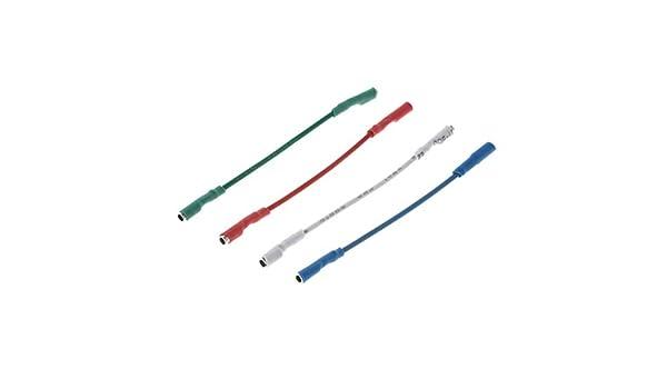 MIKI-Z 4PCS Cables universales de Plata Cable de Alambre de ...