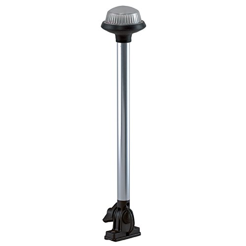 Perko 1636DP0CHR Stealth Series LED Fold Down All-Around Light-14-1/4, White