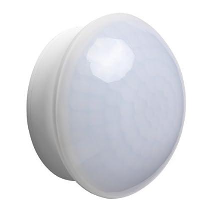IKEA MOLGAN - Funciona con pilas iluminación, blanco / 1 pack / 1 paquete