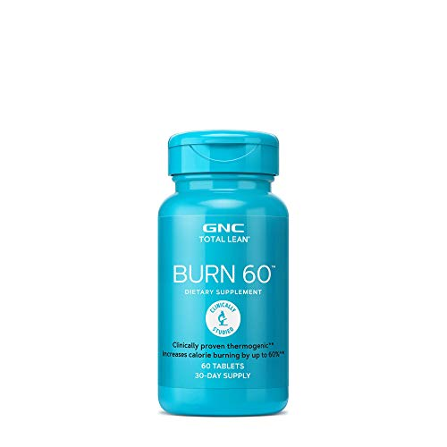 (GNC Total Burn Nutritional Supplement Cinnamon Flavored, 60 Count)