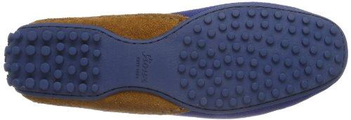 Sioux Carmela 55374 Damen Mokassins Blau (saphir/ocra)