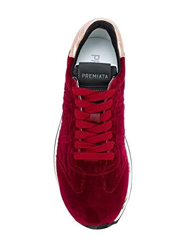 Conny2581 Premiata Donna Sneakers Rosso Velluto zqHH1xf