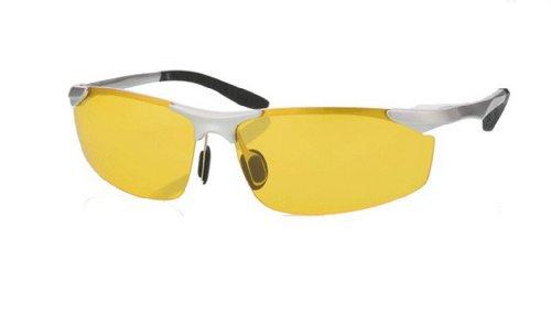 TELAM Night vision goggles, night vision glasses drivers, night driving glare - Glare Sunglasses Polar