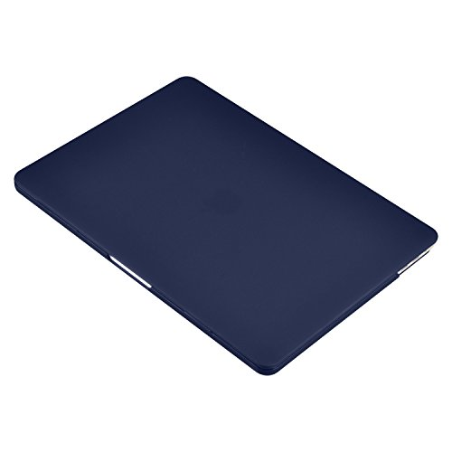 MacBook Pro 13 inch Case 2018 2017 2016, UESWILL Smooth Matte Hard Case for MacBook Pro 13-inch, 2/4 Thunderbolt 3 Ports (USB-C), with/Without Touch Bar, Model A1989/A1706/A1708, Navy Blue by UESWILL (Image #3)