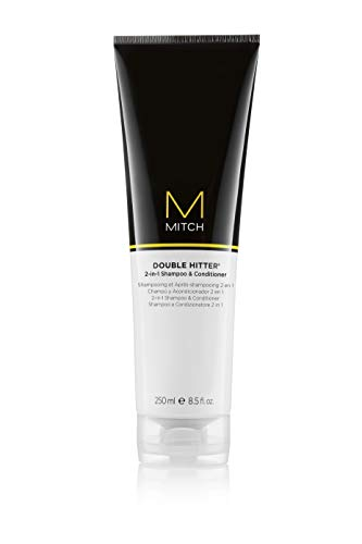 MITCH Double Hitter 2-in-1 Shampoo and Conditioner, 8.5 Fl Oz (Paul Mitchell Shampoo 1)
